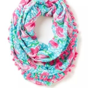 Lilly Pulitzer Lobstah Roll Infinity Scarf